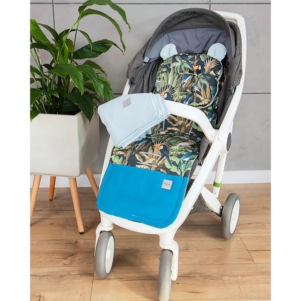 Nadčasová béžová kabelka s ptáčky Miss Lulu