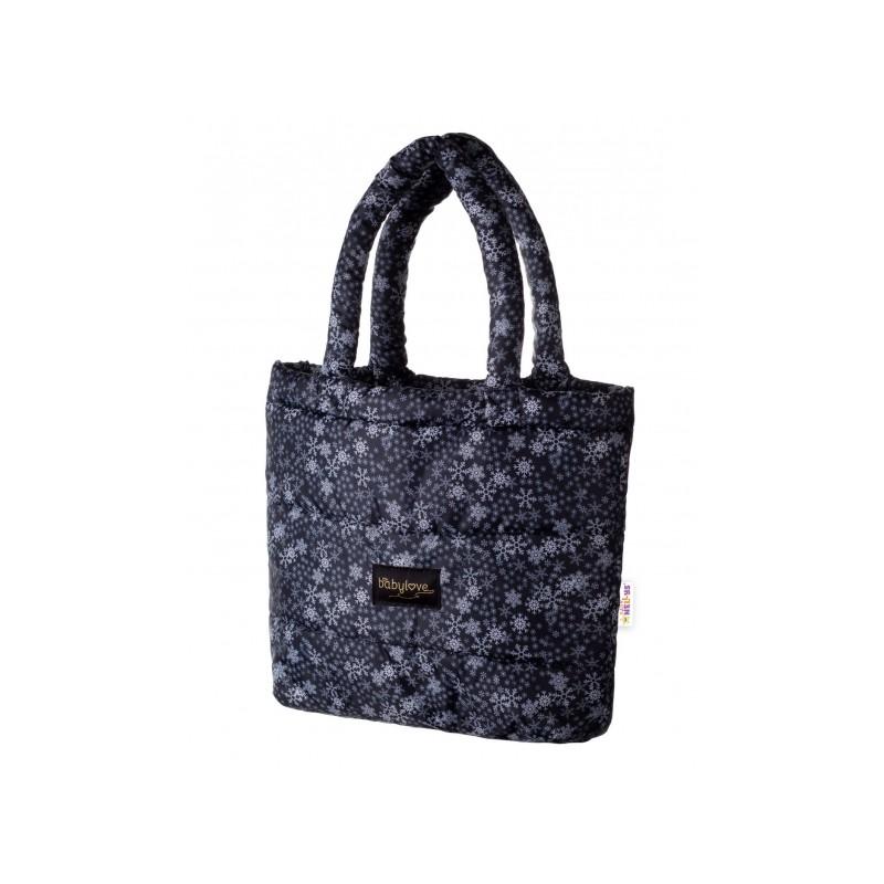 Moderní velká hnědá dámská kombinovaná kabelka YH1649