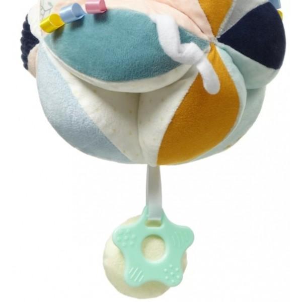 Velká modro-bílá lehká plážová taška přes rameno H-106-3