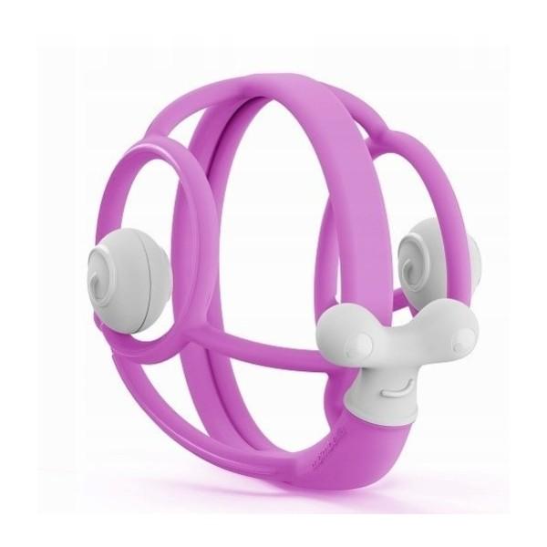 Módní dámská peněženka růžový lak Miss Lulu