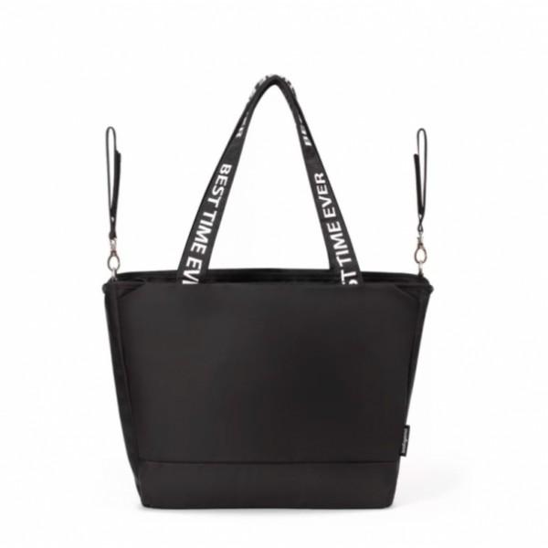 Kožená velká pískově hnědá broušená praktická dámská kabelka