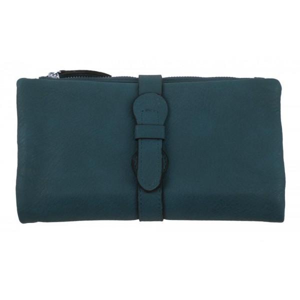 Kožená dámská kabelka Shaila fuchsiová