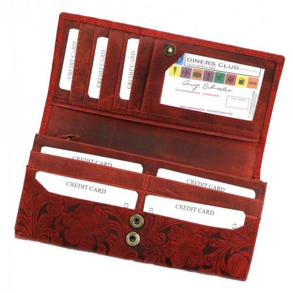 Kožená dámská kabelka přes rameno Reba banánová žlutá