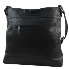 Černá dámská kabelka přes rameno 5433-BB