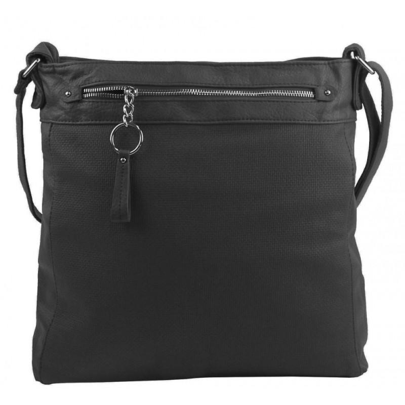 Růžová dámská kabelka přes rameno 5433-BB