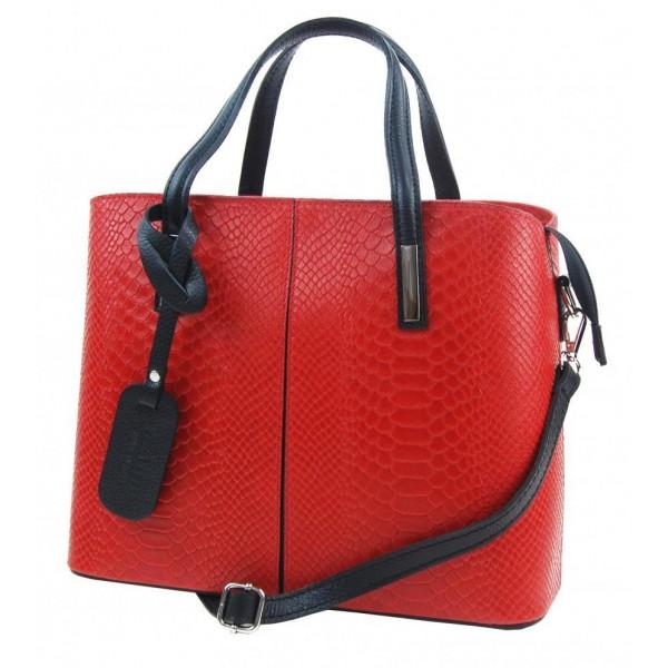 Velká modro-bílá plážová taška přes rameno B6802