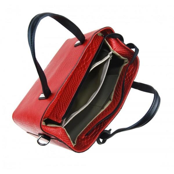 Velká černo-bílá plážová taška přes rameno B6802
