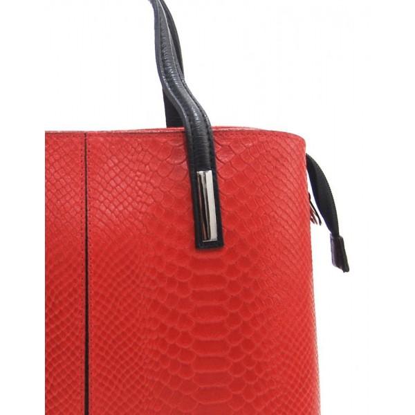 Velká modrá plážová taška přes rameno B6803