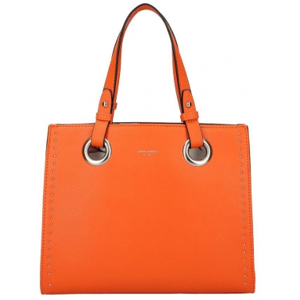 DAVID JONES Oranžová dámská kabelka do ruky CM5784