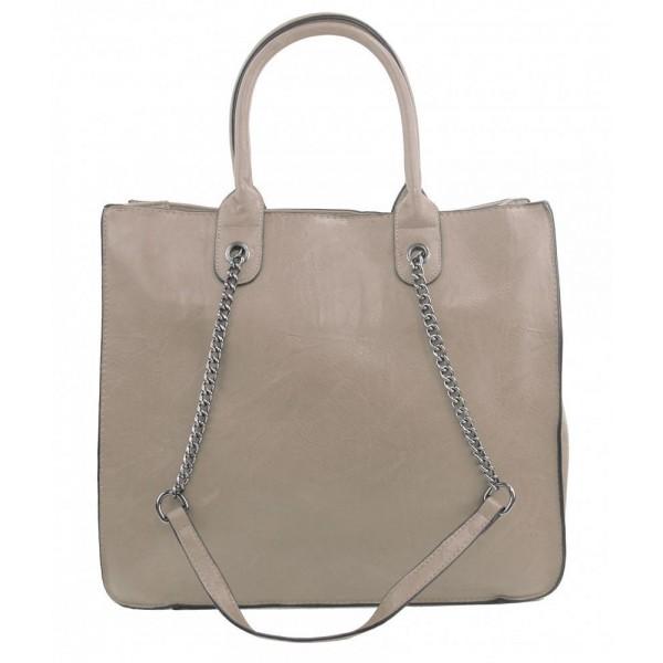 Květovaný dámský módní batůžek černý AM0119
